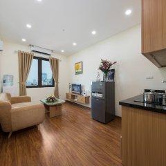 Апартаменты Granda Quan Hoa Apartment в номере