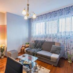 Отель FM Deluxe 1-BDR Apartment - Central Sofia Болгария, София - отзывы, цены и фото номеров - забронировать отель FM Deluxe 1-BDR Apartment - Central Sofia онлайн комната для гостей фото 4
