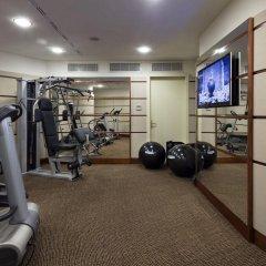 Отель UNAHOTELS Cusani Milano фитнесс-зал