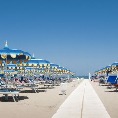Hotel Sandra Римини пляж фото 2