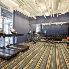 Отель Aloft Chicago OHare США, Розмонт - отзывы, цены и фото номеров - забронировать отель Aloft Chicago OHare онлайн фитнесс-зал фото 3