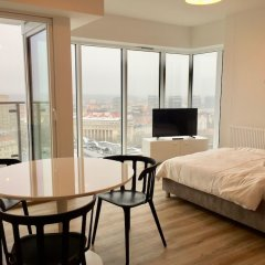 Апартаменты Poznan Apartments Towarowa комната для гостей фото 3