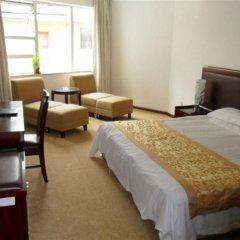 Shanghai Institute of Foreign Trade International Exchange Center Hotel комната для гостей