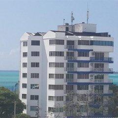 Отель Sol Caribe Sea Flower Колумбия, Сан-Андрес - отзывы, цены и фото номеров - забронировать отель Sol Caribe Sea Flower онлайн пляж