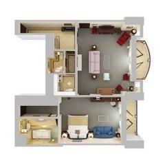 Отель Conrad Cairo в номере