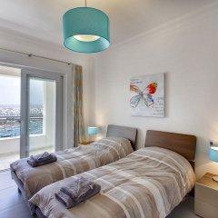 Отель Pure Luxury Apartment With Pool Мальта, Слима - отзывы, цены и фото номеров - забронировать отель Pure Luxury Apartment With Pool онлайн комната для гостей фото 2