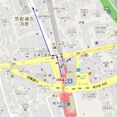 Отель Princess Garden Япония, Токио - отзывы, цены и фото номеров - забронировать отель Princess Garden онлайн городской автобус