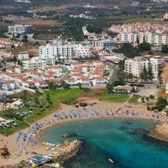 Отель Captain Pier Hotel Кипр, Протарас - отзывы, цены и фото номеров - забронировать отель Captain Pier Hotel онлайн приотельная территория