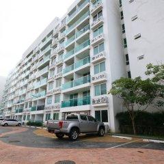 Отель Amazon Condo & Water Park Pattaya Паттайя парковка