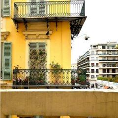 Отель Appartement Unik Ницца балкон