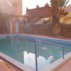 Отель Maroc Galacx Марокко, Уарзазат - отзывы, цены и фото номеров - забронировать отель Maroc Galacx онлайн бассейн
