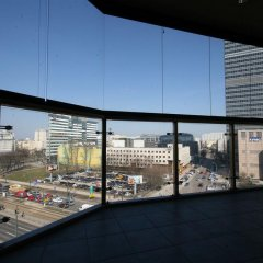 Отель Autobudget Apartments Towarowa Польша, Варшава - отзывы, цены и фото номеров - забронировать отель Autobudget Apartments Towarowa онлайн балкон