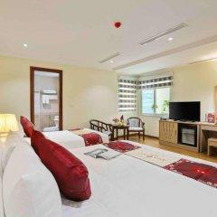 Отель Silk Queen Grand Hotel Вьетнам, Ханой - отзывы, цены и фото номеров - забронировать отель Silk Queen Grand Hotel онлайн комната для гостей фото 3