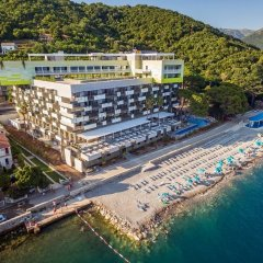 Отель Zebra Hotel Черногория, Тиват - отзывы, цены и фото номеров - забронировать отель Zebra Hotel онлайн пляж