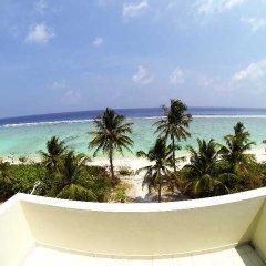 Отель Velaa Beach балкон