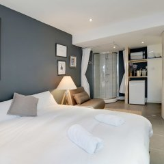 Апартаменты Modern Boho Studio - Central Brighton комната для гостей фото 3