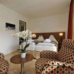 Отель Waldhotel Davos Швейцария, Давос - отзывы, цены и фото номеров - забронировать отель Waldhotel Davos онлайн комната для гостей фото 4
