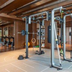 Отель Hilton Dubai Al Habtoor City фитнесс-зал фото 4