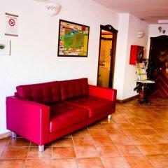 Отель Residence Blu Mediterraneo Римини комната для гостей