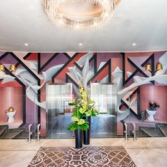 NYX Hotel Milan by Leonardo Hotels интерьер отеля