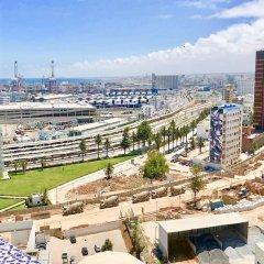 Отель Luxe & Unique Centre Ville Vue sur Mer Марокко, Касабланка - отзывы, цены и фото номеров - забронировать отель Luxe & Unique Centre Ville Vue sur Mer онлайн балкон