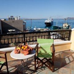 Отель Vasilaras Hotel Греция, Агистри - отзывы, цены и фото номеров - забронировать отель Vasilaras Hotel онлайн балкон