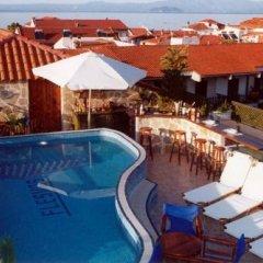 Отель Flesvos Греция, Пефкохори - отзывы, цены и фото номеров - забронировать отель Flesvos онлайн бассейн фото 3