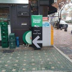 Отель Sleepy Panda Stream Walk Южная Корея, Сеул - отзывы, цены и фото номеров - забронировать отель Sleepy Panda Stream Walk онлайн парковка