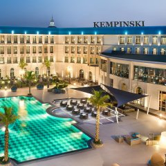 Отель Royal Maxim Palace Kempinski Cairo бассейн