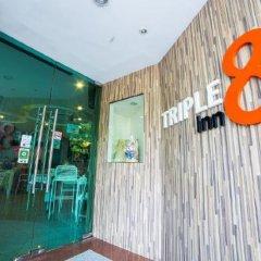 Отель Triple 8 Inn Bangkok Таиланд, Бангкок - отзывы, цены и фото номеров - забронировать отель Triple 8 Inn Bangkok онлайн интерьер отеля фото 2