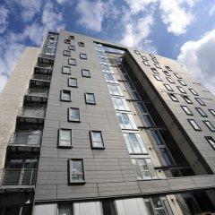 Отель Riverview Apartments Великобритания, Глазго - отзывы, цены и фото номеров - забронировать отель Riverview Apartments онлайн вид на фасад