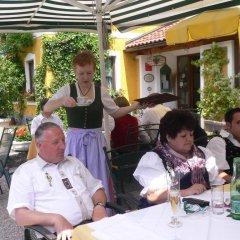 Отель Gasthof Hohlwegwirt Халлайн питание фото 2