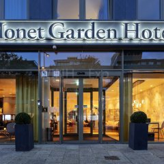 Monet Garden Hotel Amsterdam вид на фасад фото 2