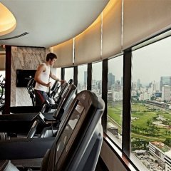 Отель Intercontinental Bangkok Бангкок фитнесс-зал фото 2