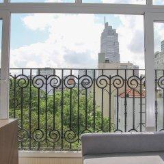 Апартаменты Sunny Serviced Apartment балкон