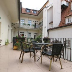 Отель METAMORPHIS Прага балкон