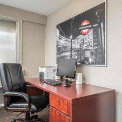 Отель Econo Lodge South Calgary Канада, Калгари - отзывы, цены и фото номеров - забронировать отель Econo Lodge South Calgary онлайн интерьер отеля