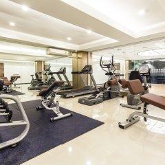 Отель Cubic Pratunam фитнесс-зал