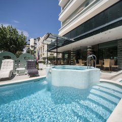 Hotel Levante Римини бассейн фото 3
