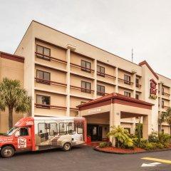 Отель Red Roof Inn PLUS+ Miami Airport городской автобус