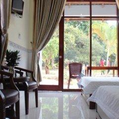 Отель Hoa Nhat Lan Bungalow балкон