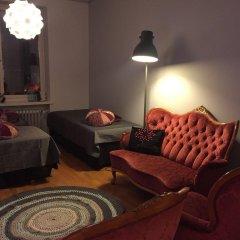 Апартаменты Sauna Apartment In The Heart Of The City Ювяскюля комната для гостей