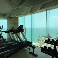 Апартаменты Wong Amat Tower By Liberty Group Apartment Паттайя фитнесс-зал