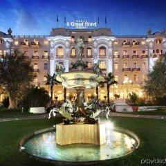 Grand Hotel Rimini вид на фасад