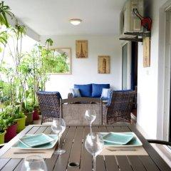 Отель F2 Kai Holiday home 1 Французская Полинезия, Фааа - отзывы, цены и фото номеров - забронировать отель F2 Kai Holiday home 1 онлайн балкон