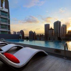 Отель Oakwood Studios Singapore Сингапур, Сингапур - отзывы, цены и фото номеров - забронировать отель Oakwood Studios Singapore онлайн бассейн
