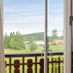 Отель Lillehammer Fjellstue балкон