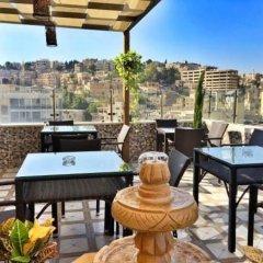 Отель Hawa Amman Hotel Иордания, Амман - отзывы, цены и фото номеров - забронировать отель Hawa Amman Hotel онлайн балкон