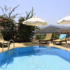 Villa Kalamaki Турция, Калкан - отзывы, цены и фото номеров - забронировать отель Villa Kalamaki онлайн бассейн