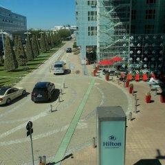 Отель Hilton Munich Airport Германия, Мюнхен - 7 отзывов об отеле, цены и фото номеров - забронировать отель Hilton Munich Airport онлайн парковка